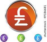 pounds money sign | Shutterstock . vector #49186681