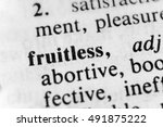 Small photo of Fruitless
