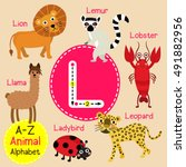 Cute Children Zoo Alphabet L...