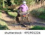 Quad Biking Down A Countryside...