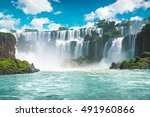 The Amazing Iguazu Waterfalls...