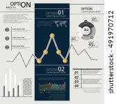 infographics vector elements...   Shutterstock .eps vector #491970712