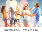 friends. | Shutterstock . vector #491971156