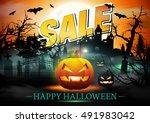 Halloween Sale. Halloween...