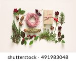 Collection Of Christmas Natura...