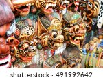 typical souvenirs and... | Shutterstock . vector #491992642