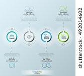 modern circle vector... | Shutterstock .eps vector #492014602