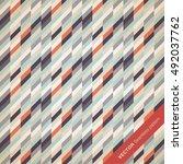 perfect seamless geometric...   Shutterstock .eps vector #492037762