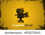 movie logo. creative movie...