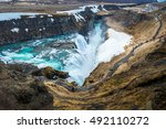 Gullfoss Is A Waterfall Locate...