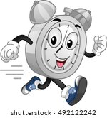 mascot illustration of an... | Shutterstock .eps vector #492122242