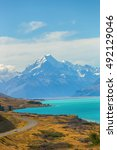 Mount Cook Viewpoint With The...
