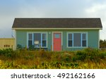 small bungalow   house | Shutterstock . vector #492162166