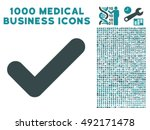 yes icon with 1000 medical...