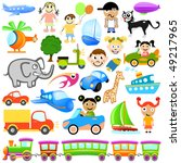 cartoon design element | Shutterstock .eps vector #49217965