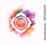 muladhara chakra | Shutterstock . vector #492205642