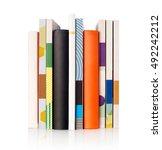 books   Shutterstock . vector #492242212