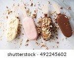 Vanilla Popsicles Coat With...