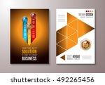 brochure template  flyer design ...