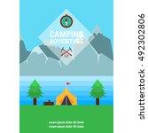 adventure poster | Shutterstock .eps vector #492302806