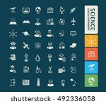 science innovation icon vector | Shutterstock .eps vector #492336058