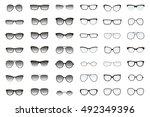 Kinds Of Sunglasses. Many Type...