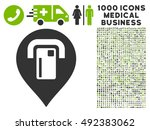 atm map pointer icon with 1000... | Shutterstock .eps vector #492383062