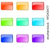 set of  glossy web buttons on...   Shutterstock . vector #49243477