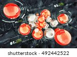 hud abstract technology...