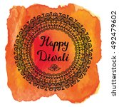 Happy Diwali Festival.mandala...
