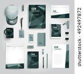 corporate identity stationery...   Shutterstock .eps vector #492497872