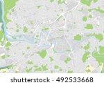 vector city map of bristol ...   Shutterstock .eps vector #492533668
