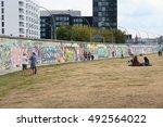 berlin  germany   august 26 ... | Shutterstock . vector #492564022