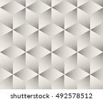 vector seamless black and white ... | Shutterstock .eps vector #492578512