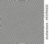 black and white geometric...   Shutterstock .eps vector #492590332