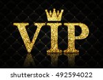 vector vip icon | Shutterstock .eps vector #492594022