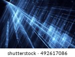 abstract fractal background a...   Shutterstock . vector #492617086