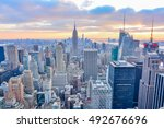 new york  united states  ... | Shutterstock . vector #492676696