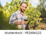 italian man standing in casual...   Shutterstock . vector #492686122