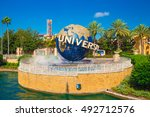 orlando. usa. florida   october ... | Shutterstock . vector #492712576