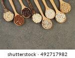 Various Varieties Of Rice And...