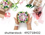 preparation for the holiday.... | Shutterstock . vector #492718432