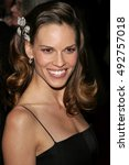 Small photo of Hilary Swank at the Paramount Pictures 2007 Golden Globe Award After-Party held at the Beverly Hilton Hotel in Beverly Hills, USA on January 15, 2007.