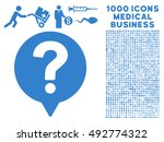 help balloon icon with 1000... | Shutterstock .eps vector #492774322