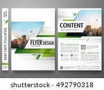brochure design template vector.... | Shutterstock .eps vector #492790318