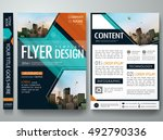 cover book presentation... | Shutterstock .eps vector #492790336