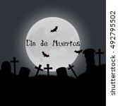 dia de los muertos | Shutterstock .eps vector #492795502