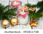 Christmas Decorations Candles...
