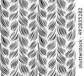 vector seamless pattern with... | Shutterstock .eps vector #492835282