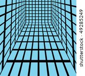 abstract blue squares   vector... | Shutterstock .eps vector #49285249